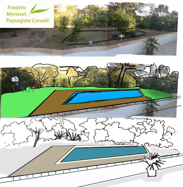 Pr tude paysag e d implantation d une piscine var for Paysagiste conseil gratuit